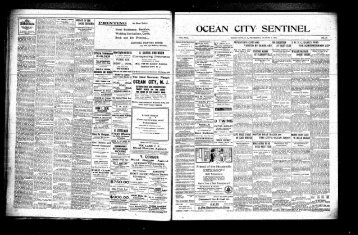 Aug 1910 - Newspaper Archives of Ocean County