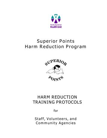 Superior Points HRP - Canadian Harm Reduction Network