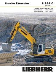 Crawler Excavator R 924 C - Psndealer.com psndealer