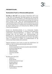 Bundesweites Projekt zur Klimaneutralität gestartet - Klima-Partner ...