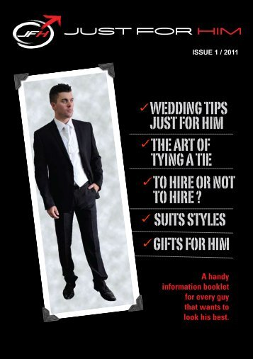 Magazine Issue 1 - Just For Him