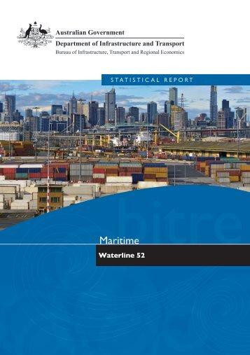 PDF: 3580 KB - Bureau of Infrastructure, Transport and Regional ...