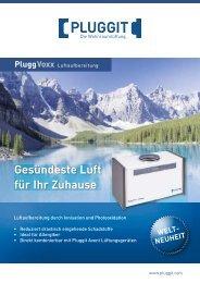 PluggVoxx Luftaufbereitung - Pluggit