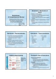 Quinolones : A Comprehensive Review Antimicrobial Activity