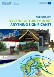 Final report: Have we actually done anything significant? - NECL II