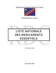 REPUBLIQUE DEMOCRATIQUE DU CONGO - ReMeD