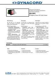 EB DPC - Udo Erpenstein GmbH