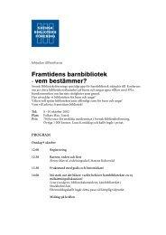 Hämta pdf-dokument här - Svensk Biblioteksförening
