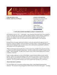 A New Diagnosis for Frida Kahlo's Infertility - April 22, 2012