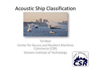 Ship Classification