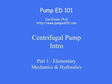 DownLoad - Pump Ed 101