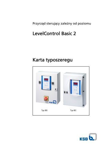 KSB LevelControl 2