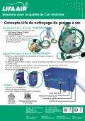le concepte Lifa de nettoyage de graisse à sec - Lifa.net - Page 2