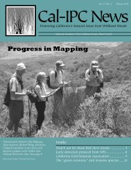 Cal-IPC News Vol. 17 No. 4, Winter 2010 - California Invasive Plant ...