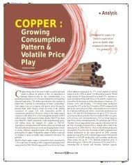 Copper Growing Consumption