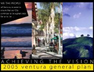 2005 General Plan - City Of Ventura