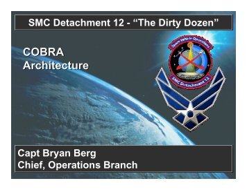 COBRA Architecture - Center for Software Engineering