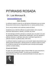 160 PITIRIASIS ROSADA - Antonio Rondón Lugo