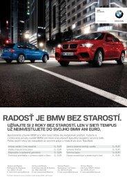 RADOSŤ JE BMW BEZ STAROSTÍ. - Tempus Bavaria