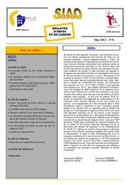 Mai 2013 - N°8 - DRIHL Ile-de-France