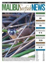 01/13/2011 - Malibu Surfside News