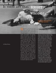 """""""Is There Any Real Right or Wrong"""" article - Power to Change"""