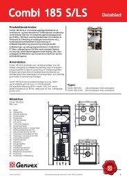 Combi 185 S/LS - JT3 Klima A/S
