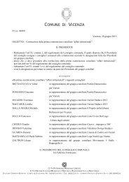 Atto della nomina delle commissioni consigliari permanenti in ...