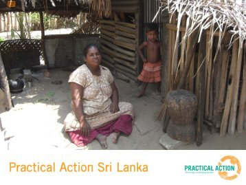 Sri Lanka - biogas - Practical Action