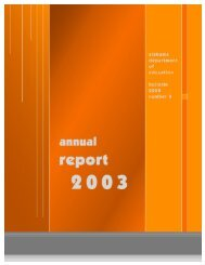 2003 SDE Annual Report - Alabama Department of Education