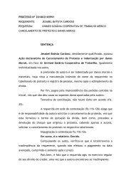 processo nº 201002165991 requerente: jesabel batista cardoso ...