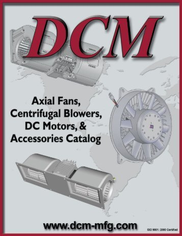 DCM manufacturing, inc. - Maradyne Mobile Products