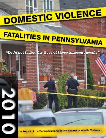 Fatality Report - Pennsylvania Coalition Against Domestic Violence