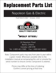 Napoleon Gas & Electric - Hearth Products Distributing