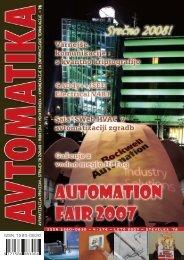 komunikacije in informacijske tehnologije - Avtomatika