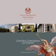 Brochure CC Villa Quaranta - Event Report