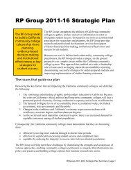 Download a summary of our strategic plan - The RP Group