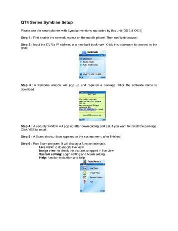 QT4 Series Symbian Setup
