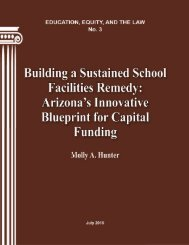 Building a Sustained School Facilities Remedy - Teachers College ...