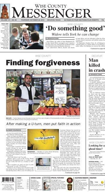 10-26-2010-Thursday - Wise County Messenger