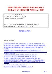 1988 toyota pickup service manual pdf