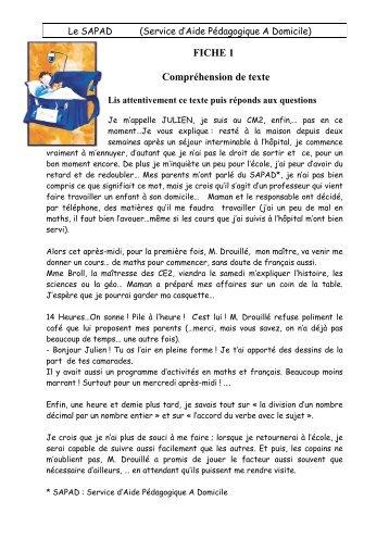Fiche N°1 Fiche_1_SAPAD.pdf - Le petit roi, enfant autiste