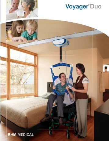 V5 Voyager Duo Ceiling Lift Brochure - Dolphin Mobility