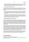 Avis sur l'introduction de sanctions pénales dans le droit belge de la ... - Page 6