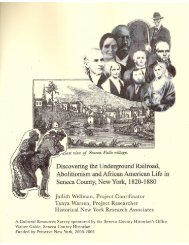 Discovering the Underground Railroad, Abolitionism, and ... - Oswego