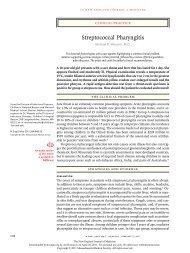 Streptococcal Pharyngitis - NEJM 2011.pdf - AInotes