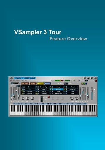 VSampler 3 Tour - MIDI Manuals