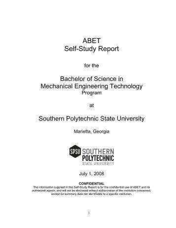 2008 - Southern Polytechnic State University