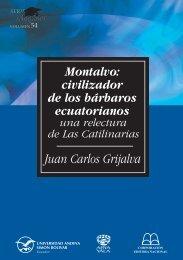 54 Montalvo. - Repositorio UASB-Digital - Universidad Andina ...