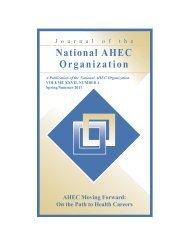 Spring/Summer 2011 - National AHEC Organization